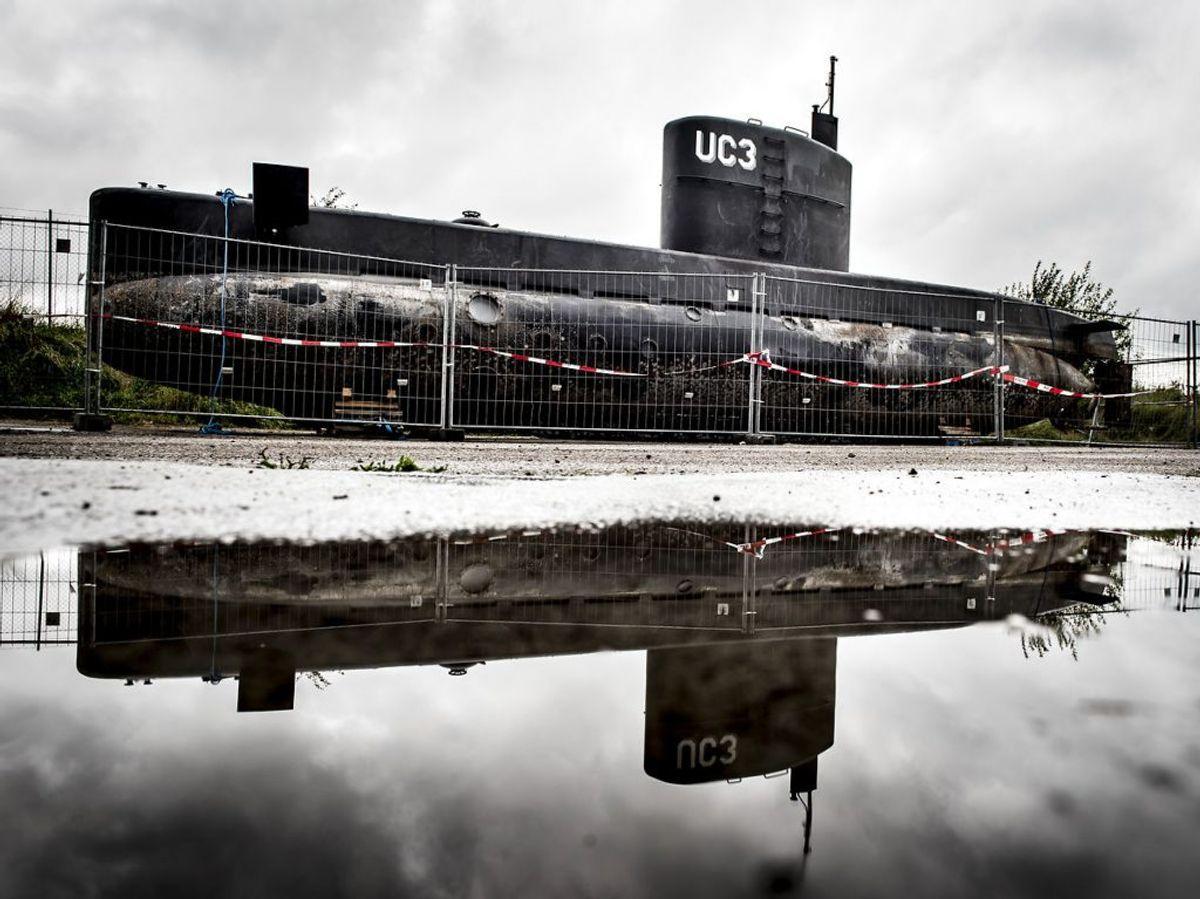 Drabet skulle være begået i Peter Madsens Ubåd Nautilus. Foto: Mads Claus Rasmussen/Ritzau Scanpix