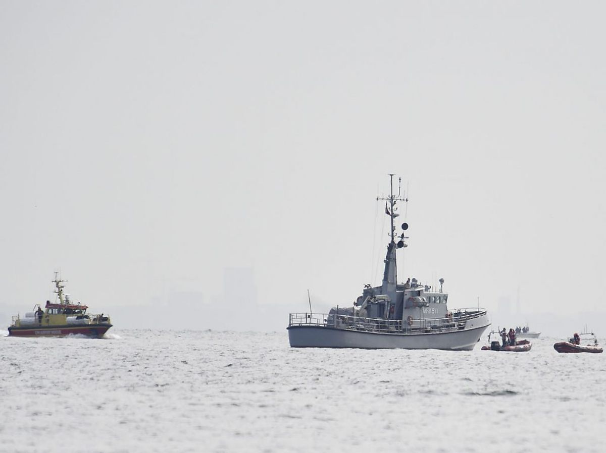 Ubåden blev efterlyst, og derfra rullede en sag, der blev overvåget i medierne. Foto: Liselotte Sabroe/Scanpix 2017