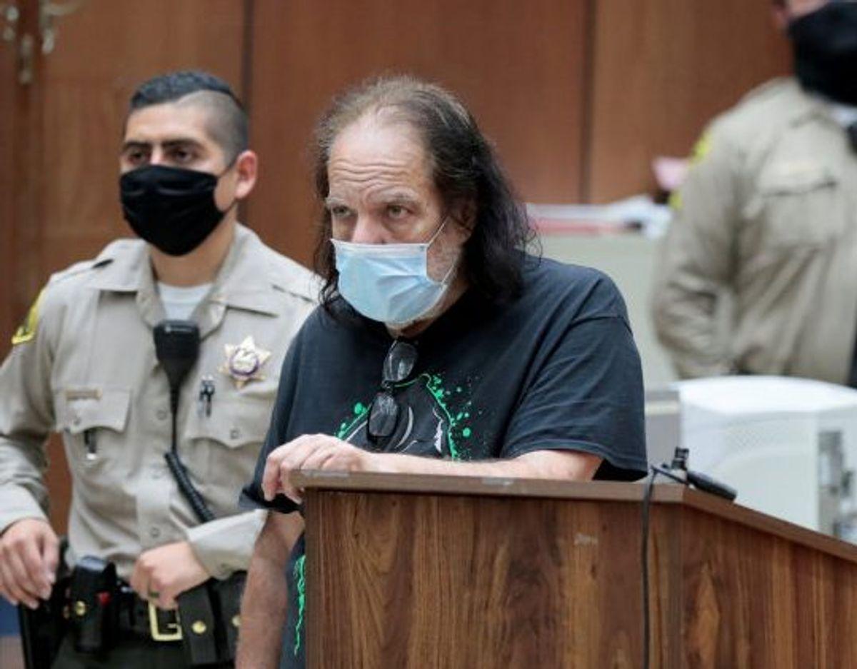Skuespiller Ron Jeremy nægtede sig i juni skyldig i alle anklager mod ham. (Arkivfoto) Foto: Pool New/Reuters