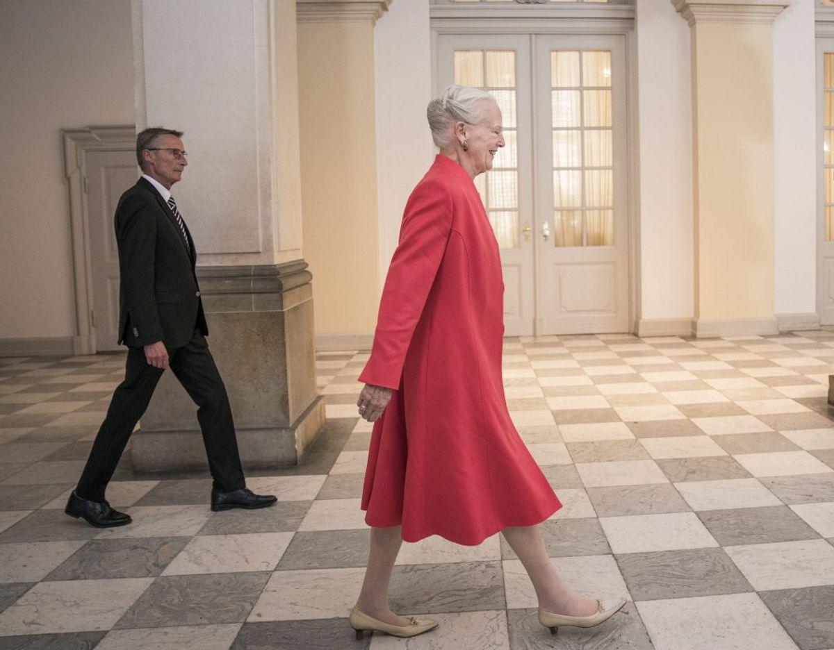 Dronningen står til en lønforhøjelse i 2021. (Arkivfoto) – Foto: Niels Christian Vilmann/Ritzau Scanpix.