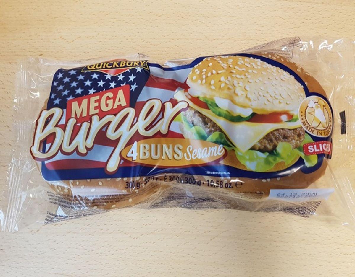 Det er disse burgerboller, der kaldes tilbage. Foto: Fødevarestyrelsen.
