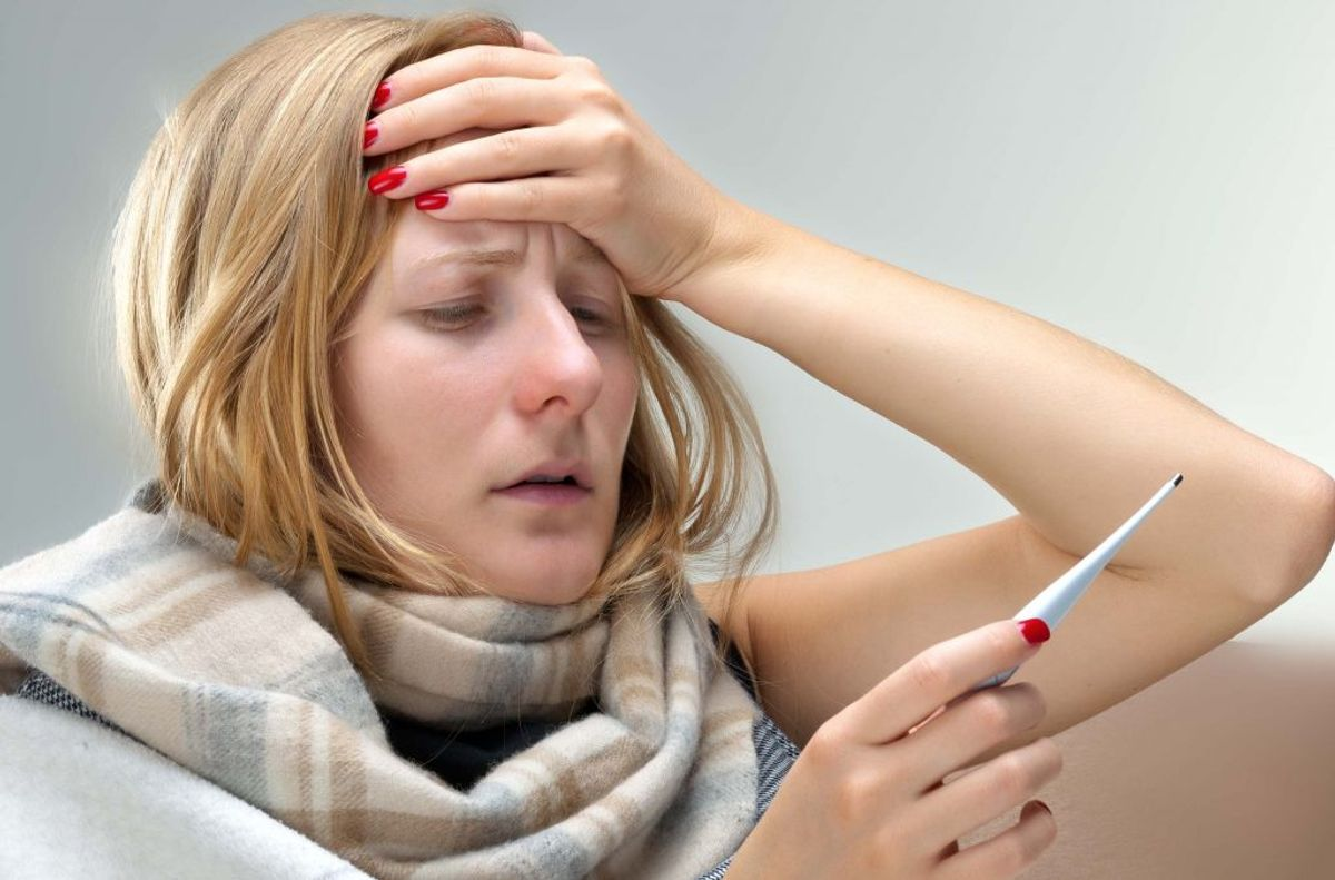 COVID-19: Sygdomsfølelse. Kilde: Sundhedsstyrelsen. Arkivfoto.