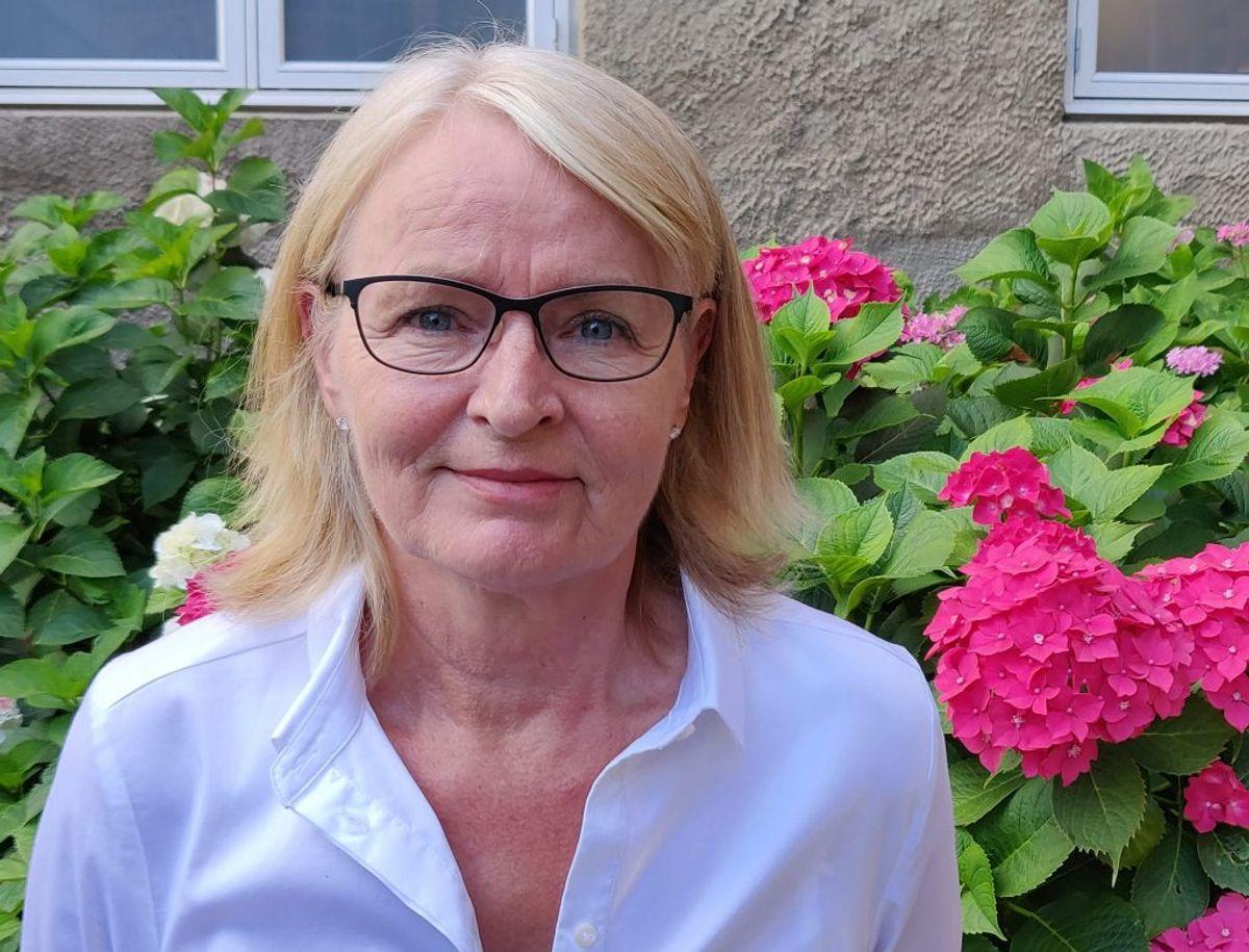Karin lever i dag et godt liv, efter at hun fik en blodprop i hjernen i 2015. Foto: Newsbreak.dk.