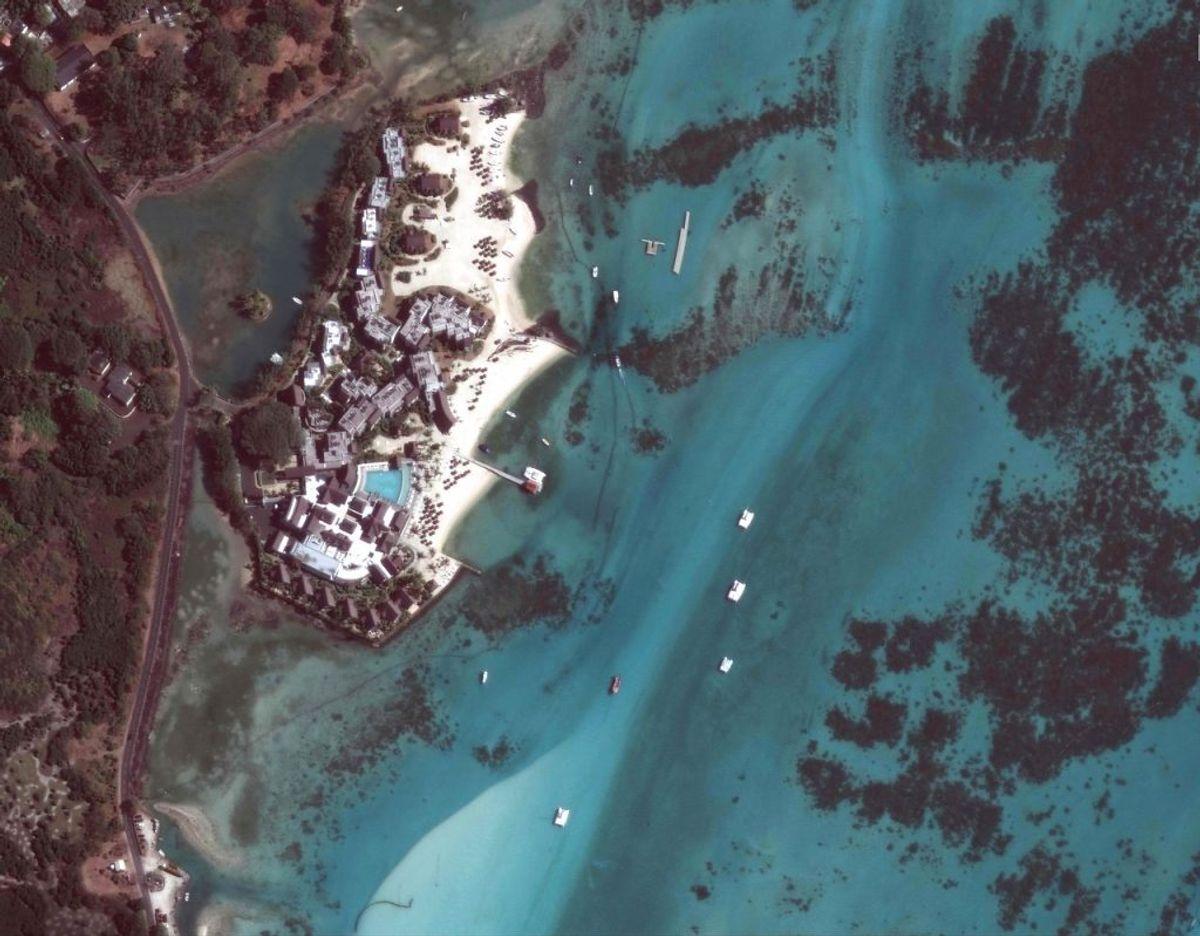 Olielækagen antages at være den største miljøkrise i Mauritius. Nogensinde. Foto: Scanpix
