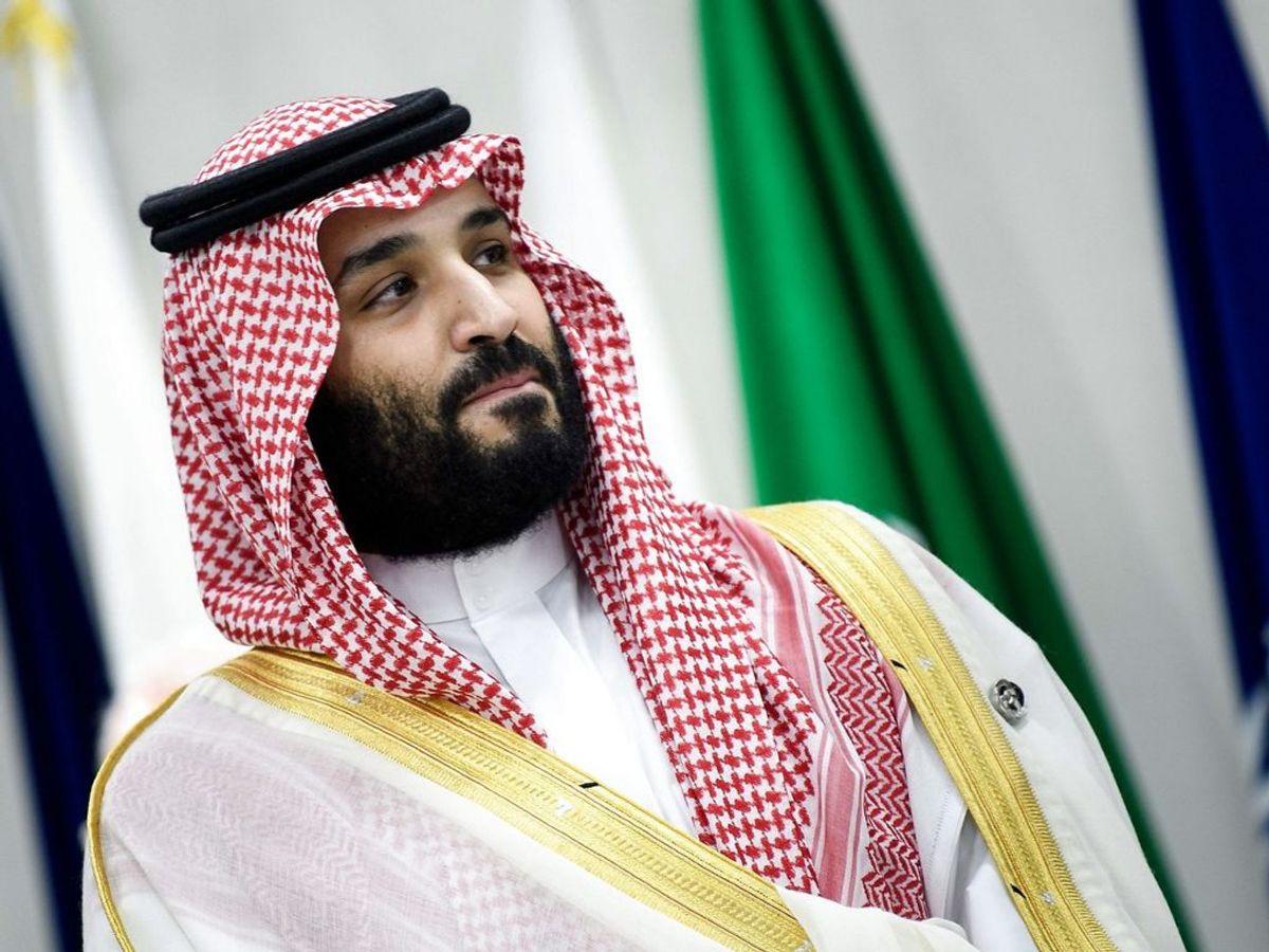 Saudi Arabiens kronprins Mohammed sagsøges af en tidligere embedsmand. For drabsforsøg. Foto: Brendan Smialowski/Scanpix.