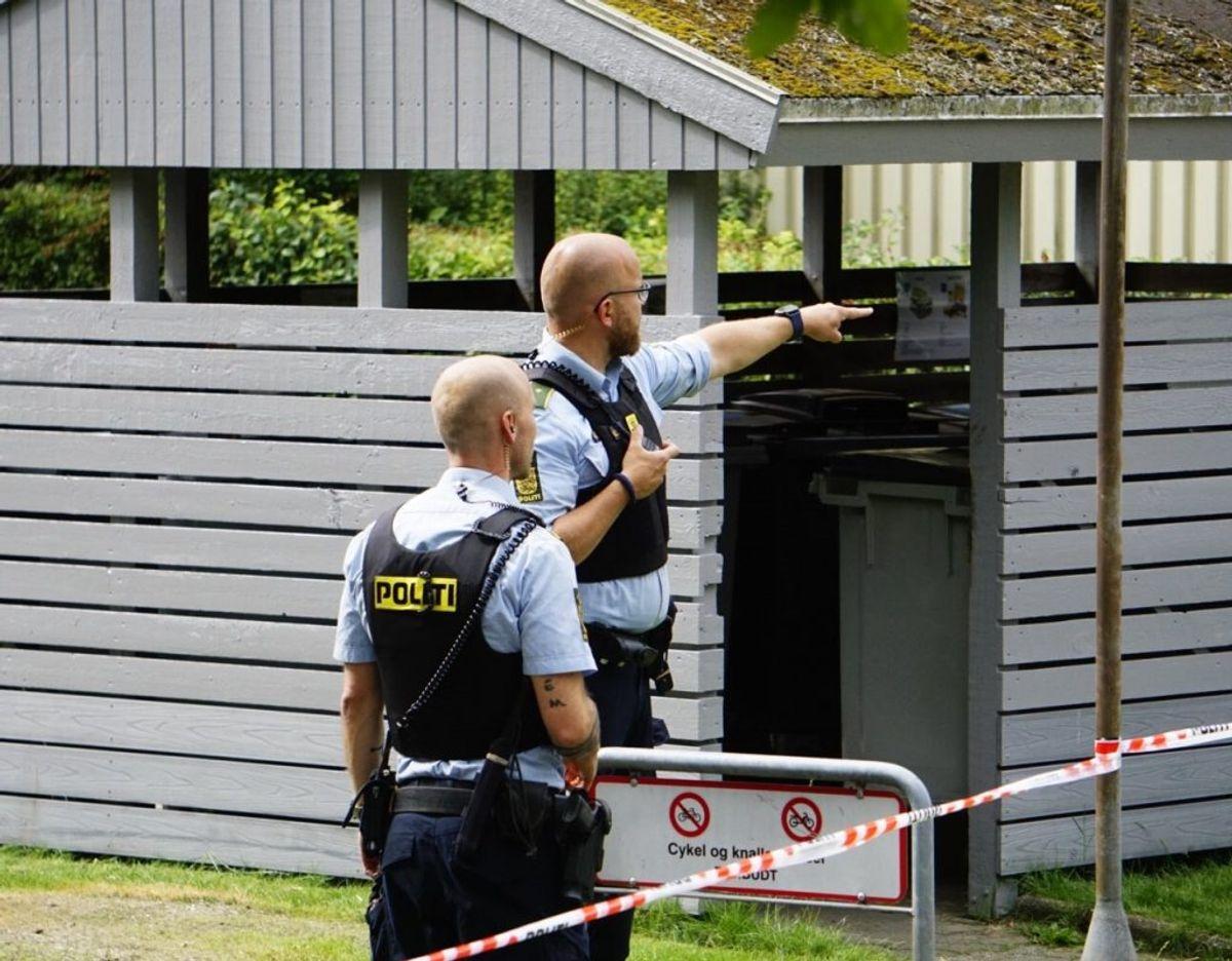 En person er fundet død. Foto: Presse-fotos.dk