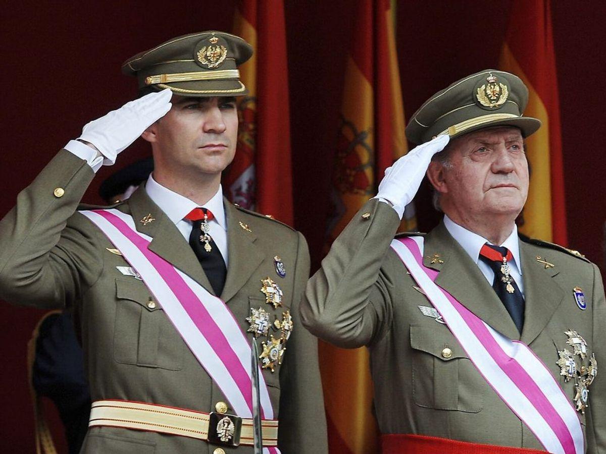 Spaniens tidligere konge Juan Carlos har forladt landet. (Foto: Philippe DESMAZES / AFP)
