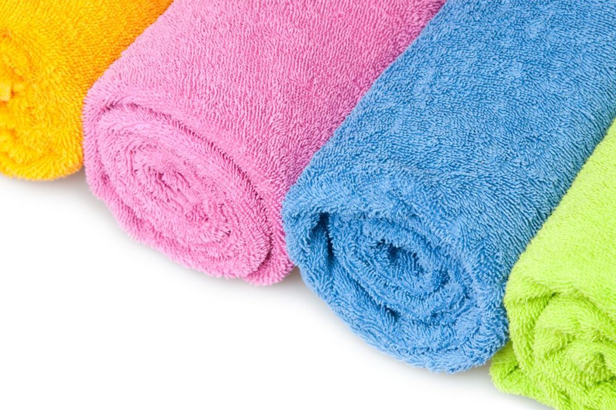 Sørg for, at der er rene håndklæder til hænderne. Kilde: Reader's Digest. Arkivfoto.