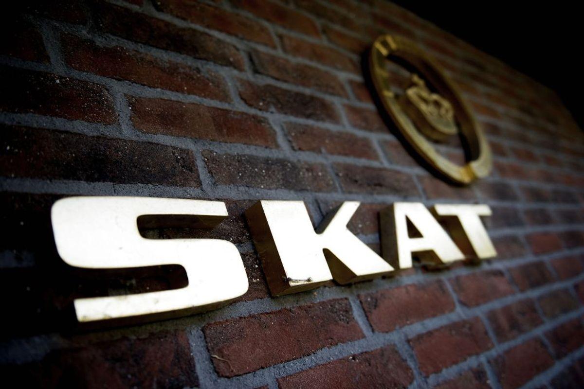 I nogle opkaldene udgiver personer sig for at være fra SKAT. Foto: Scanpix (Foto: ERIK REFNER/Ritzau Scanpix)