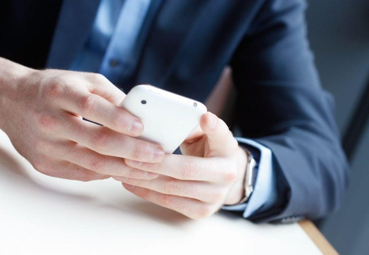 Opgiv aldrig personfølsom data over telefonen. Arkivfoto.