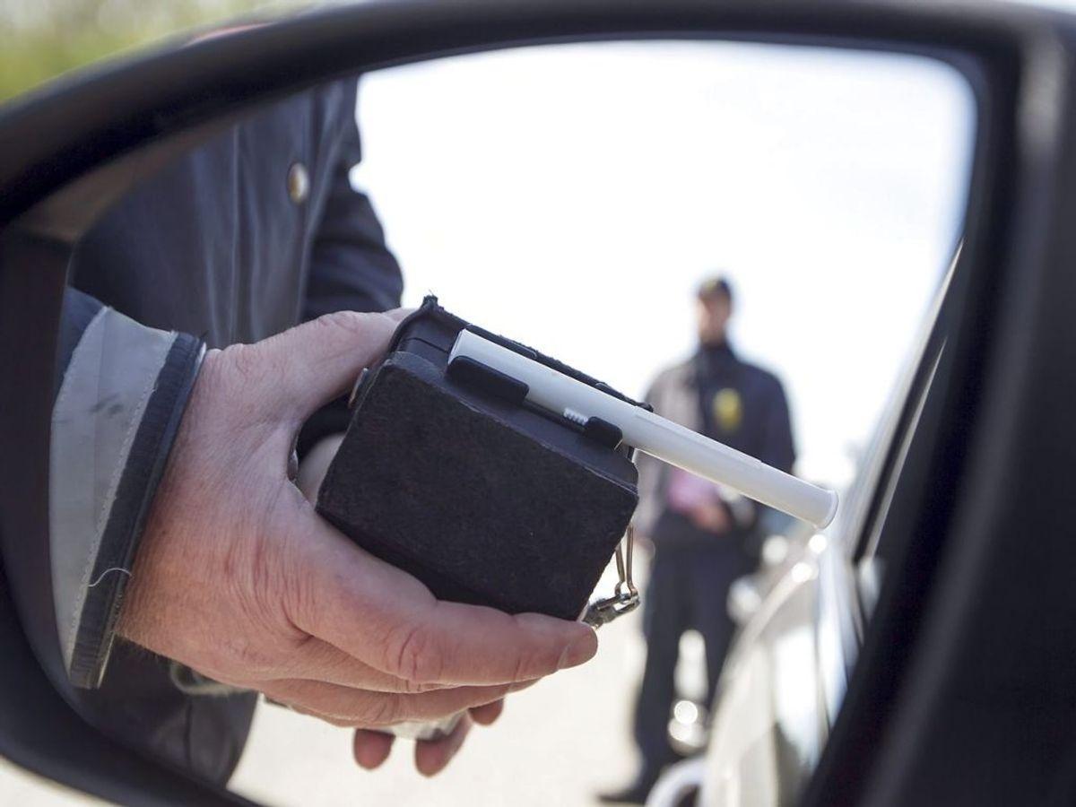 Hen over sommeren har politiet landet over udført en målrettet indsats mod spritkørsel. Foto: Tommy Kofoed/Midtjyske Medier/Ritzau Scanpix