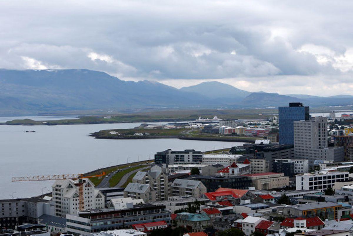 Der er ikke meldinger om skader eller tilskadekomne i Islands hovedstad, Reykjavik, efter en række rystelser søndag aften og mandag morgen. (Arkivfoto) Foto: Michaela Rehle/Reuters