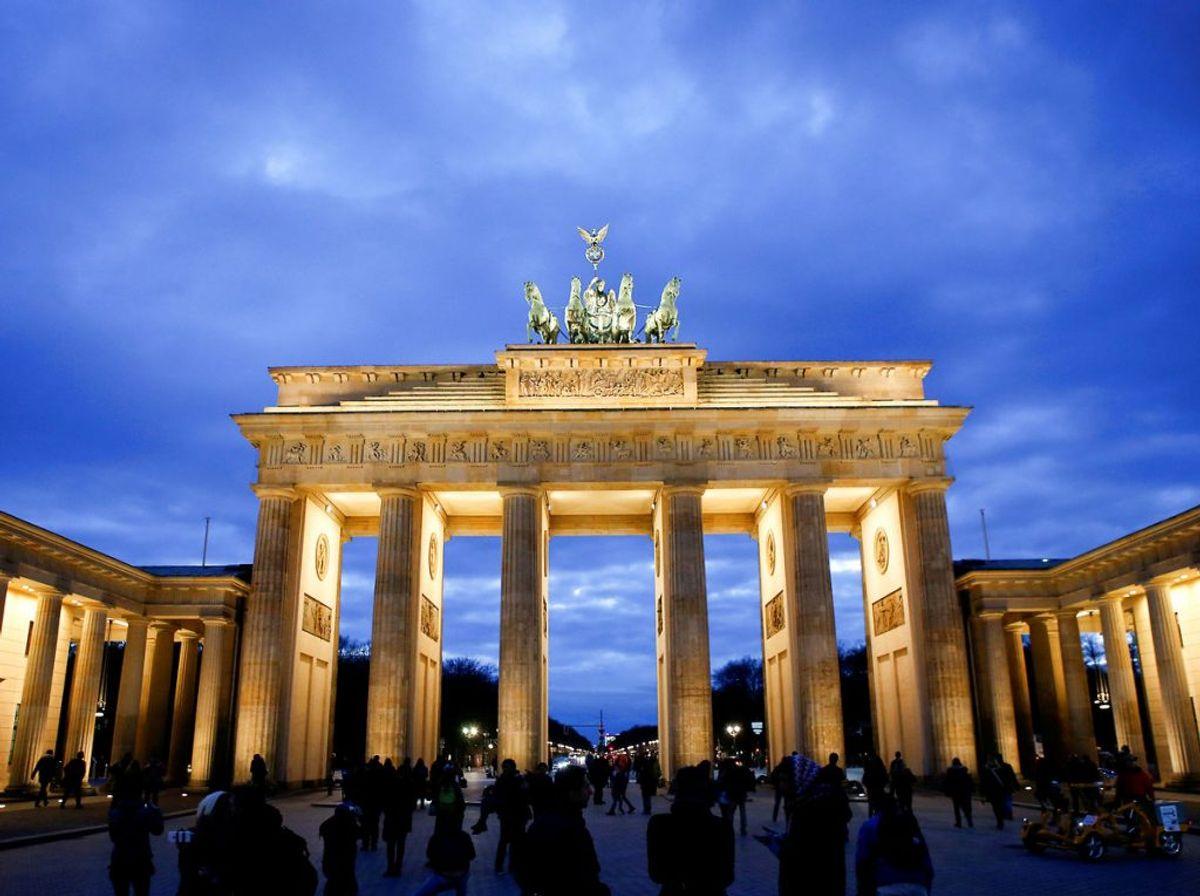 Tyskland. Her er antallet af smittede 2,5 per 100.000 indbyggere. Foto: REUTERS/Fabrizio Bensch/File Photo