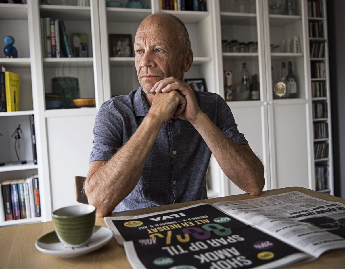 Hårdere modregningsregler koster tømrer Leif Ottosen tusindvis af kroner hvert år. – Foto: Joachim Rode, Fagbladet 3F/
