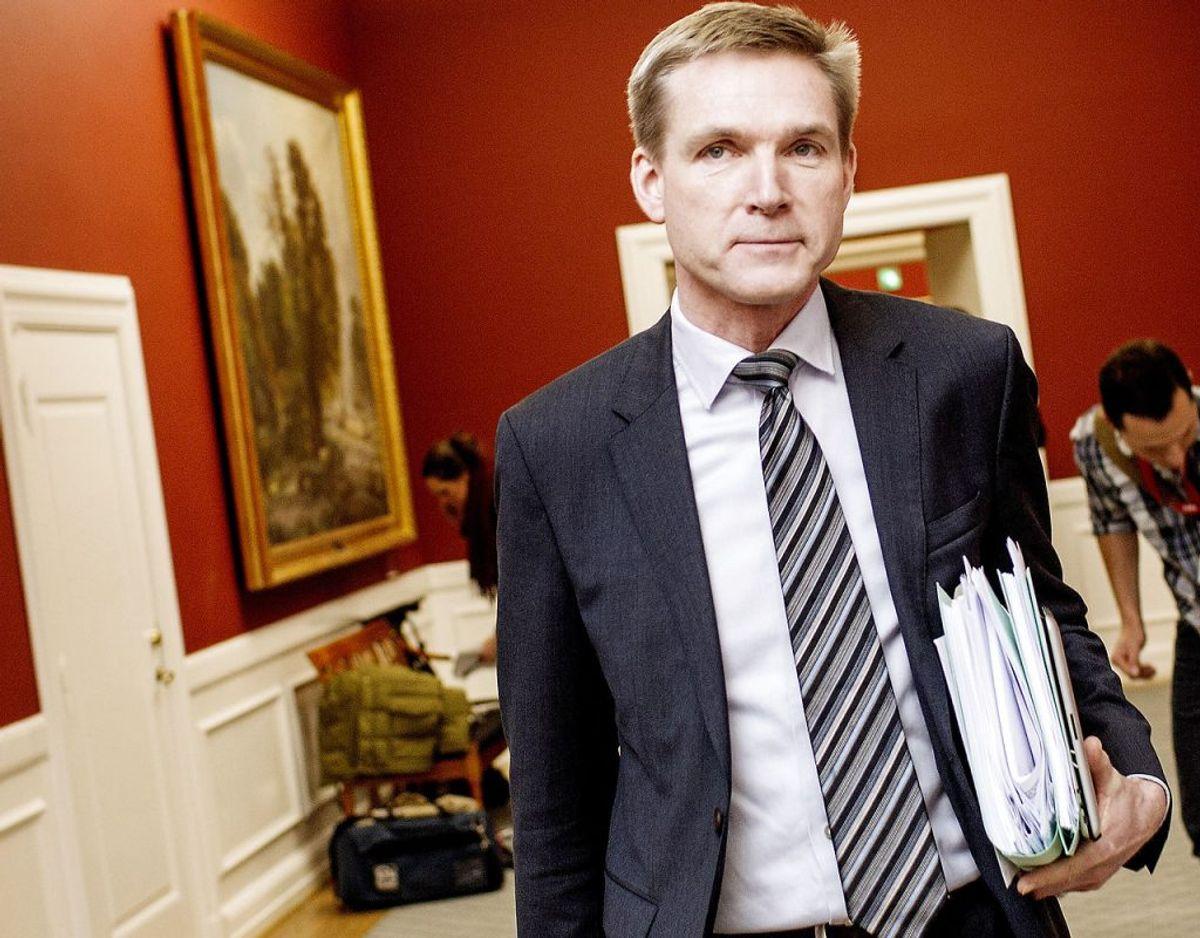 Dansk Folkepartis formand Kristian Thulesen Dahl. Arkivfoto: Scanpix.