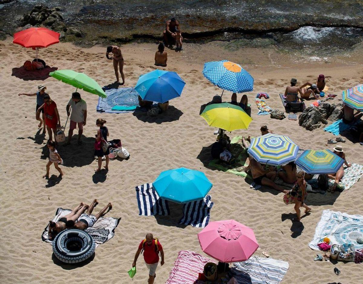 Det er nu 2. gang i weekenden, der indføres restriktioner i Spanien. Foto: Josep LAGO / AFP