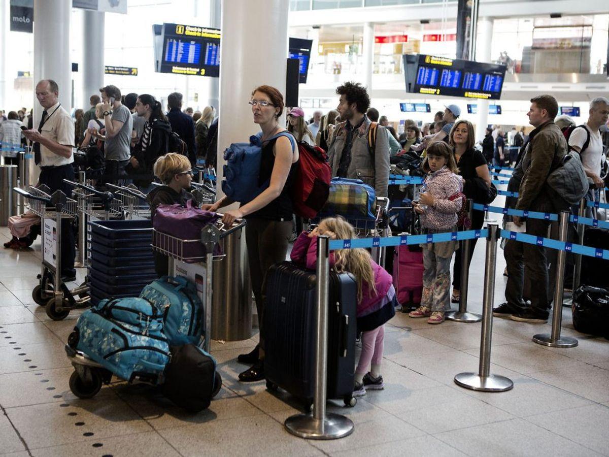 Fra den 27. juni 2020 kan rejselystne danskere pakke kufferterne og rejse ud. Men det er ikke alle lande, der er åbne. SE HVILKE LANDE DU KAN REJSE TIL. Foto: Betina Garcia/Ritzau Scanpix