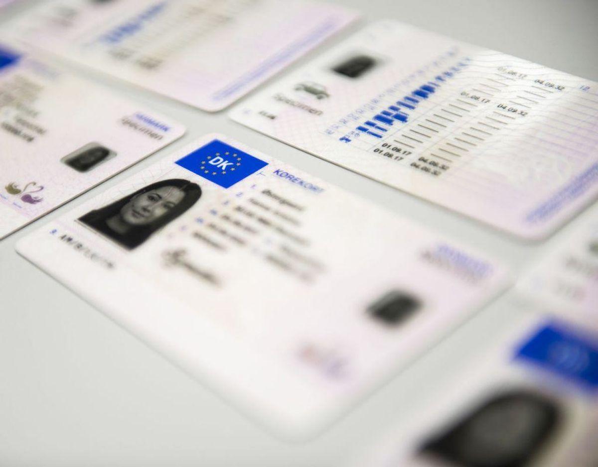 Husk at tage registreringsattest, kørekort og DK-skilt, hvis ikke bilen er EU-nummerplade, med på kør selv-ferien. Foto: Scanpix