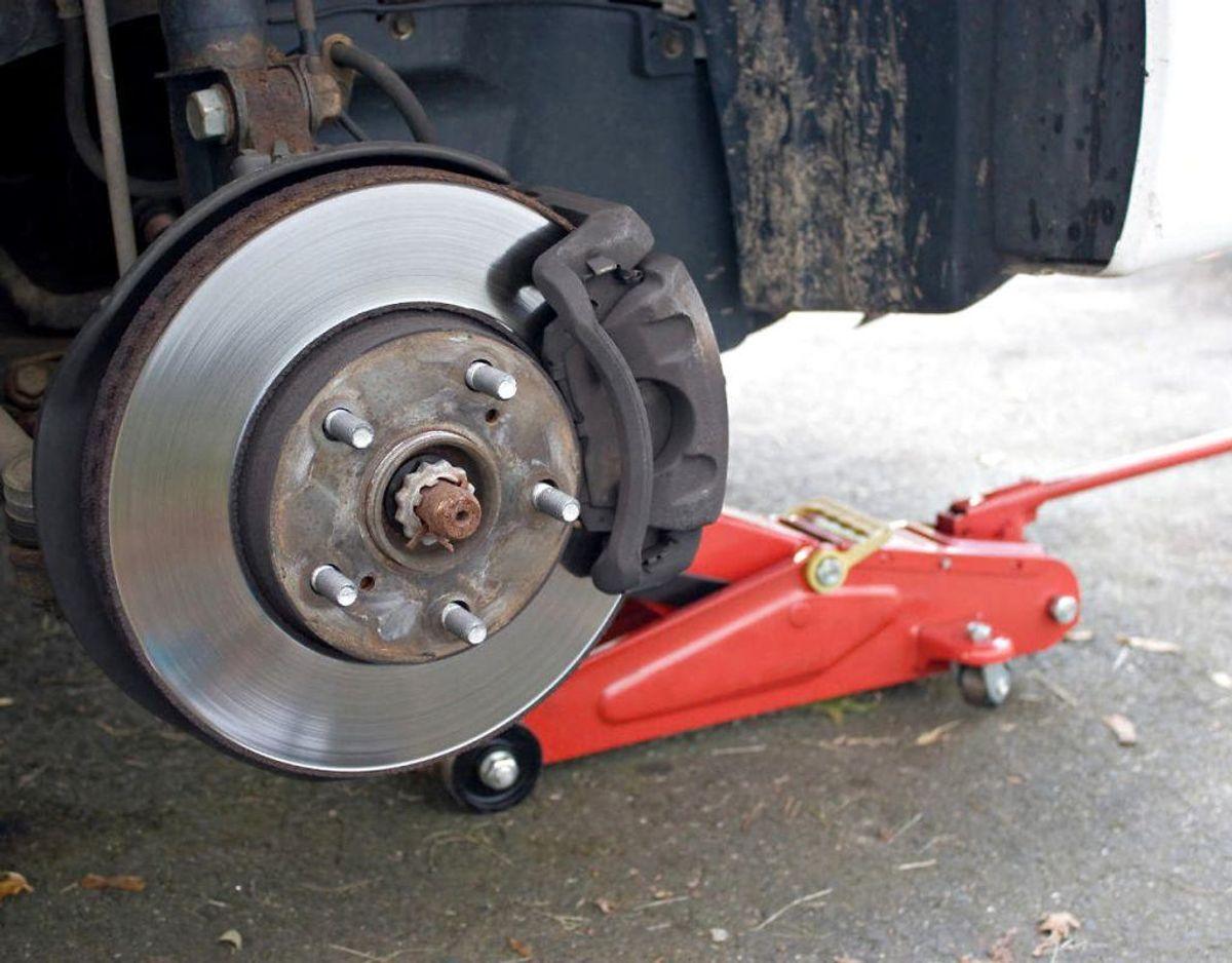 Få tjekket bilens bremser inden afgang. Foto: Scanpix