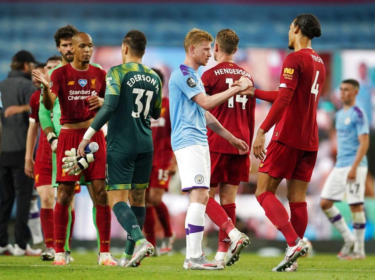 Liverpool tabte stort til Manchester City. Foto: Scanpix.
