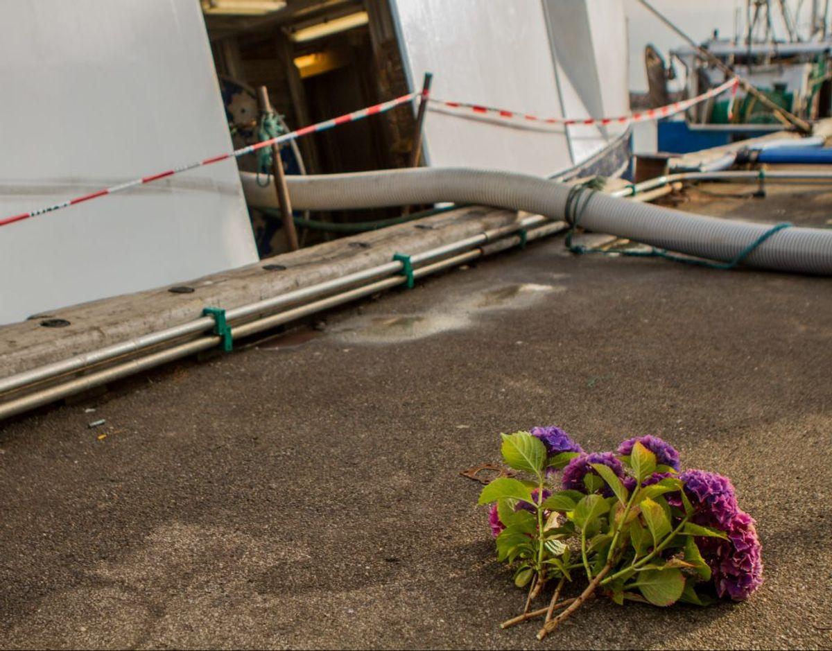 Ulykken skete her. KLIK FOR FLERE BILLEDER. Foto: Rasmus Skaftved
