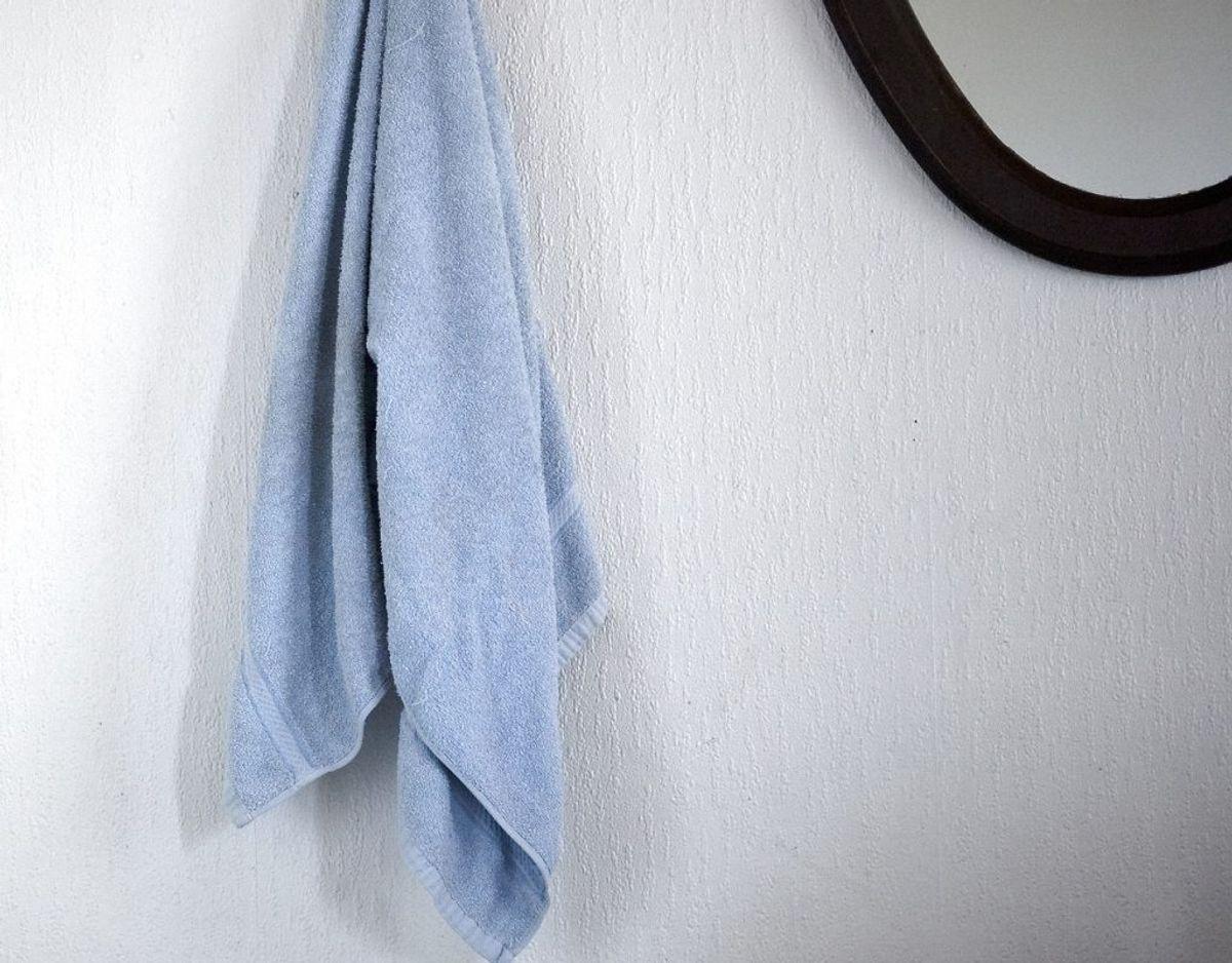 Skift håndklæder jævnligt. Foto: Scanpix