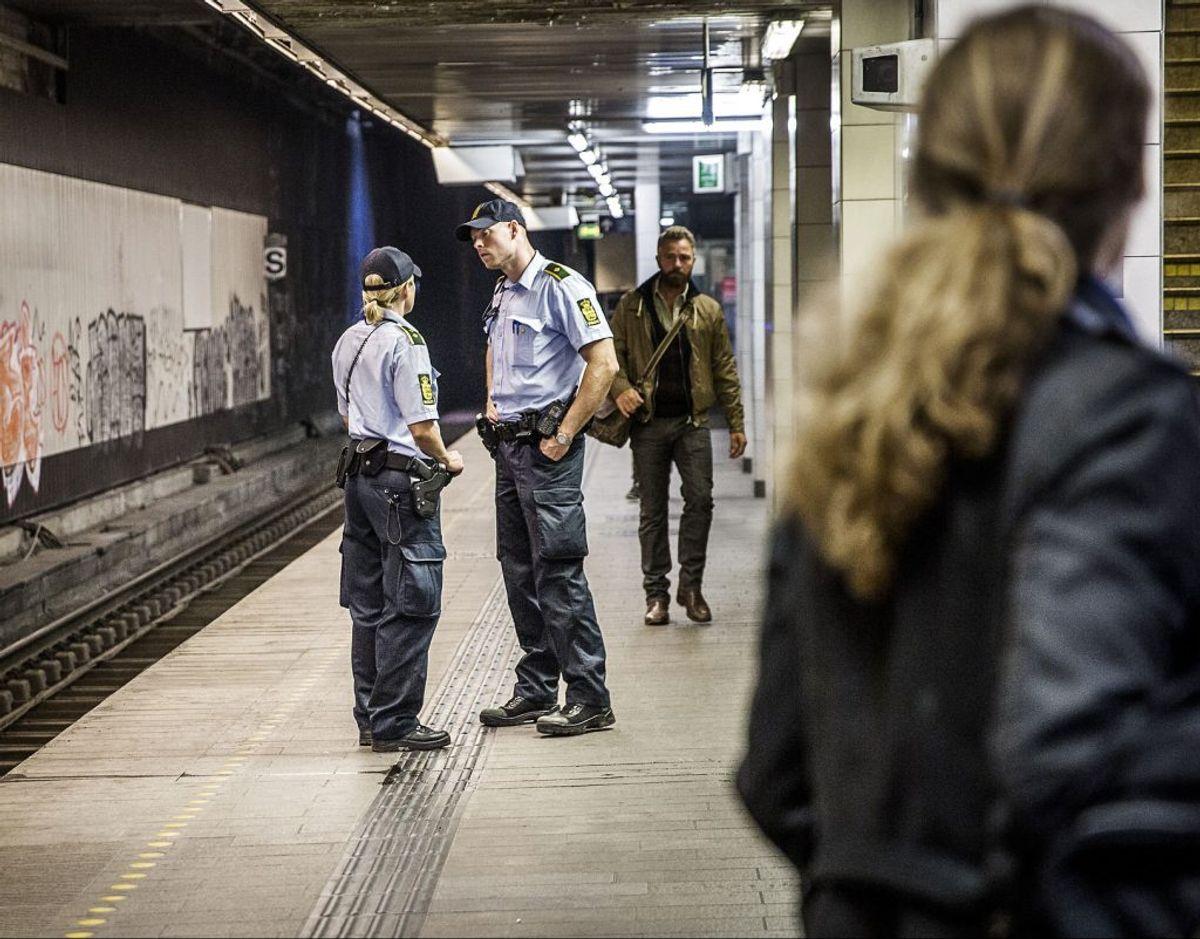Arkivfoto af Nørreport Station, som er en af de stationer, der er sket gaderøverier omkring. – Foto: Thomas Lekfeldt/Ritzau Scanpix/