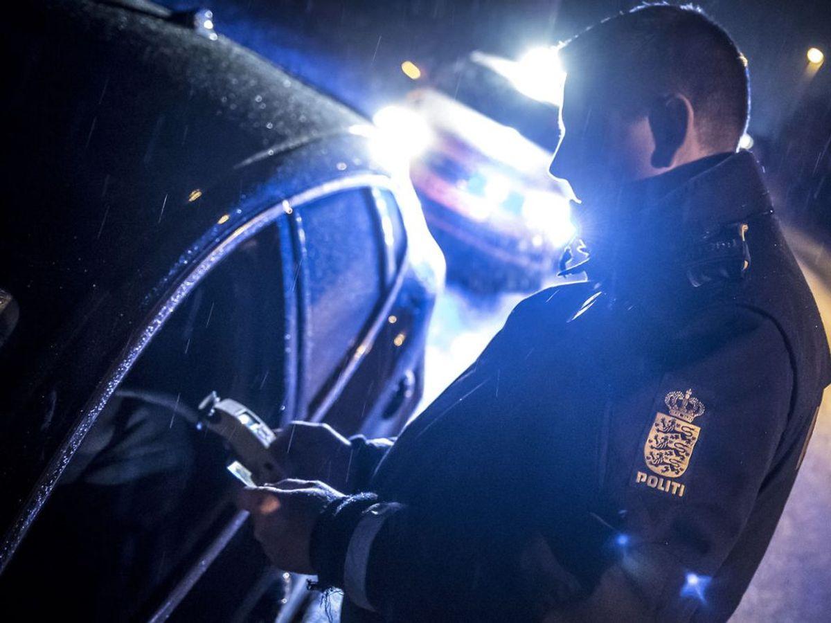 To færdselskontroller endte ud i 100 sager. Et skammeligt tal, mener politiet. Foto: Mads Claus Rasmussen/Ritzau Scanpix/ Arkiv