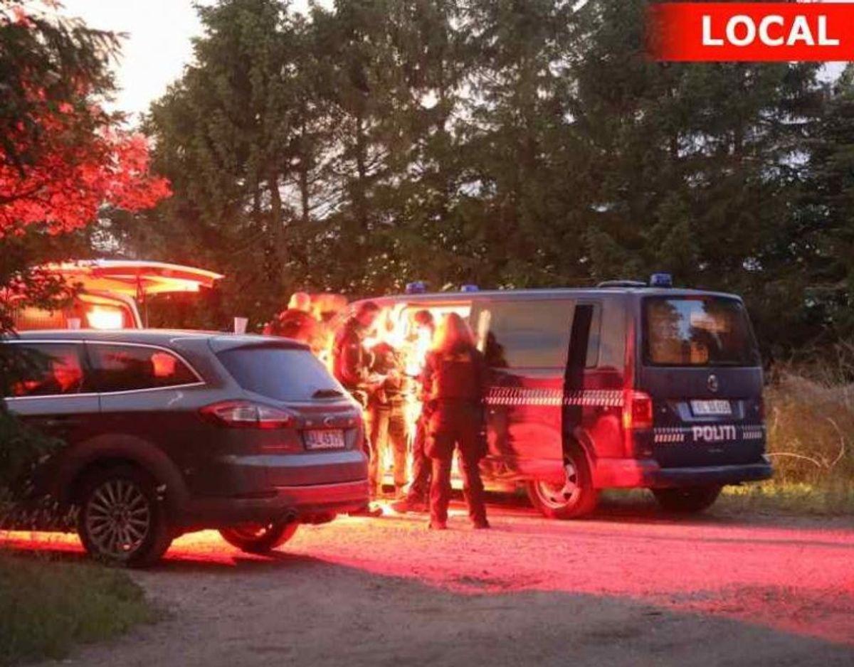 Politiet har af flere omgange ledt intensivt efter den 73-årige. Foto: Local Eyes