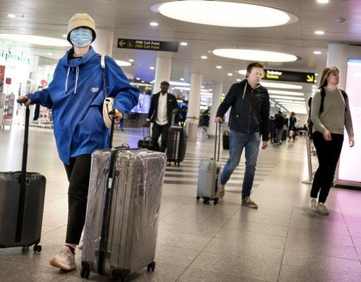En gruppe udlændinge kan underskrive en erklæring inden indrejse i Danmark, så de kan slippe for at fremvise coronatest, før de er ankommet til landet. (Arkivfoto) Foto: Liselotte Sabroe/Scanpix
