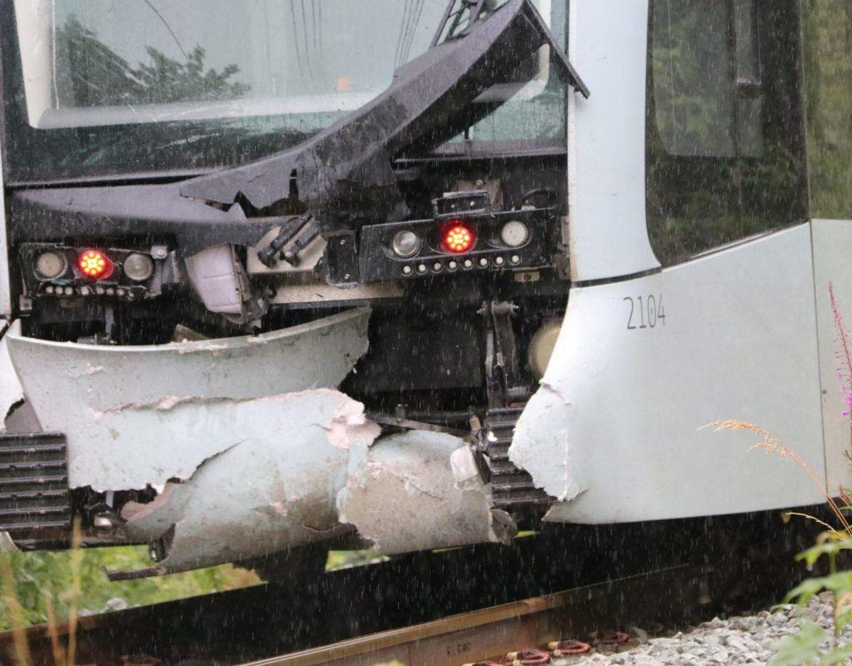 Den fatale ulykke indtraf lørdag. KLIK FOR FLERE BILLEDER DERFRA. Foto: Øxenholt Foto