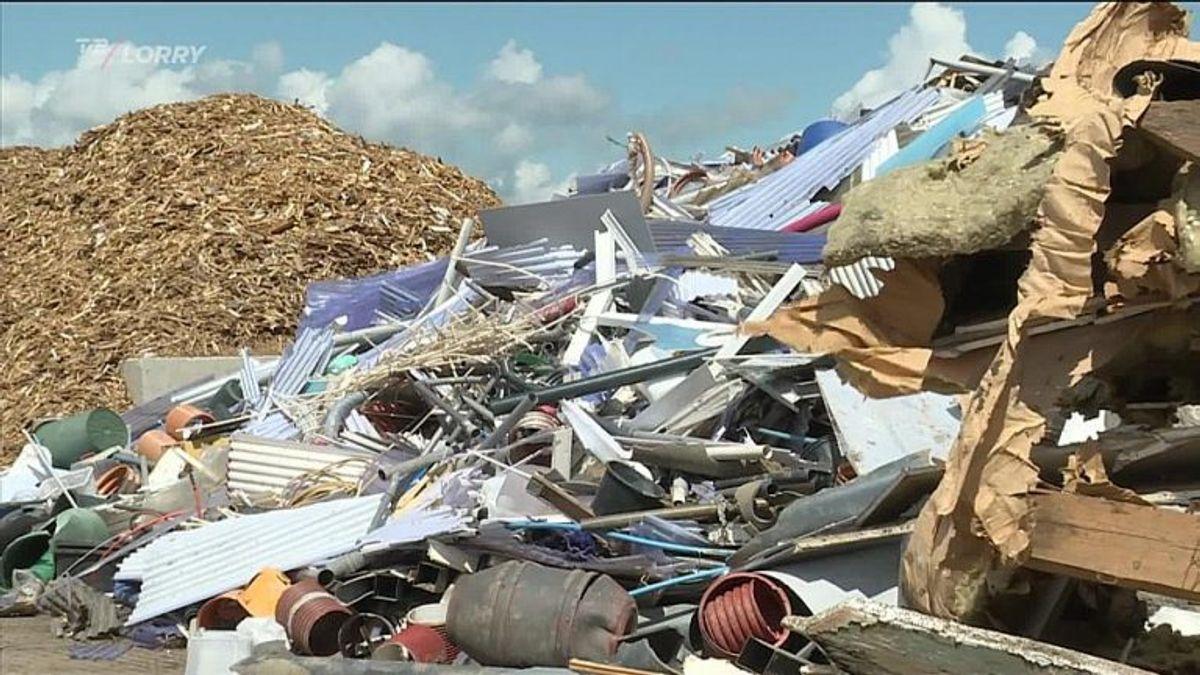Det nye anlæg i Roskilde vil både skulle håndtere plastikaffald fra husholdninger og fra erhverv. Foto: TV2 Lorry.