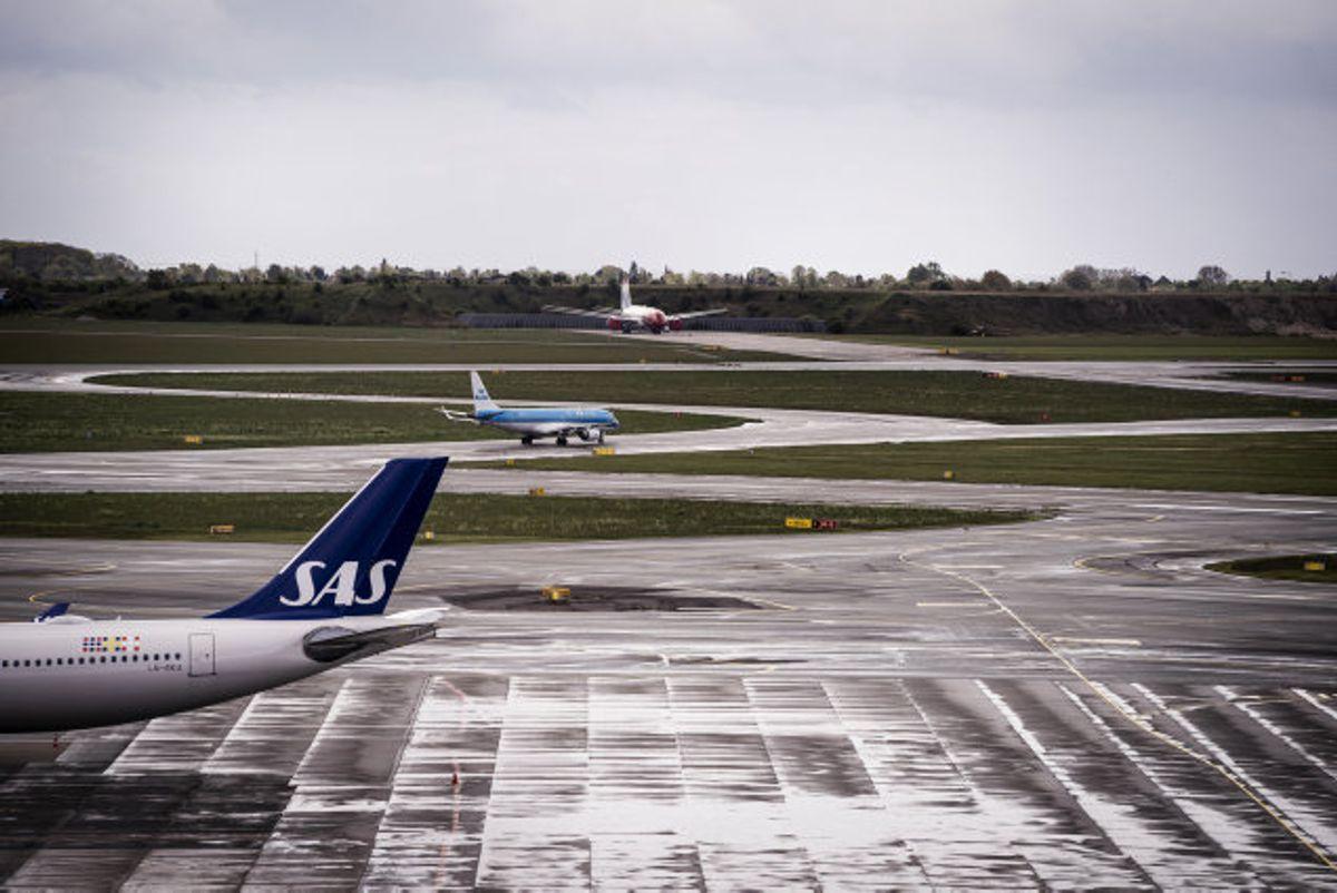 Normalt er der 83.000 rejsende igennem Københavns Lufthavn dagligt. I april er det faldet til færre end 900 dagligt. Der holder knap 100 fly langtidsparkereret i lufthavnen. (Arkivfoto). Foto: Liselotte Sabroe/Scanpix