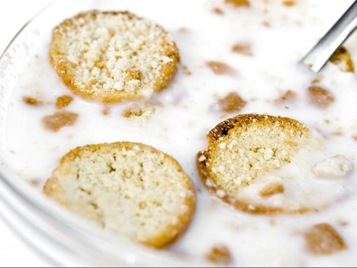 70,2 gram kulhydrat – heraf 24 gram sukkerarter og 42,4 gram stivelse. Foto: Nies Meilvang/Scanpix.