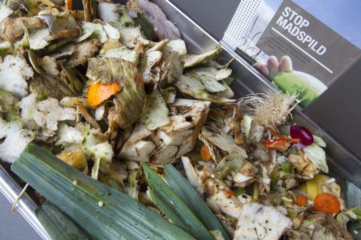 Sørg for at kompostere dine madrester – og ikke bare smide dem ud. Kilde: Good Housekeeping. Arkivfoto.