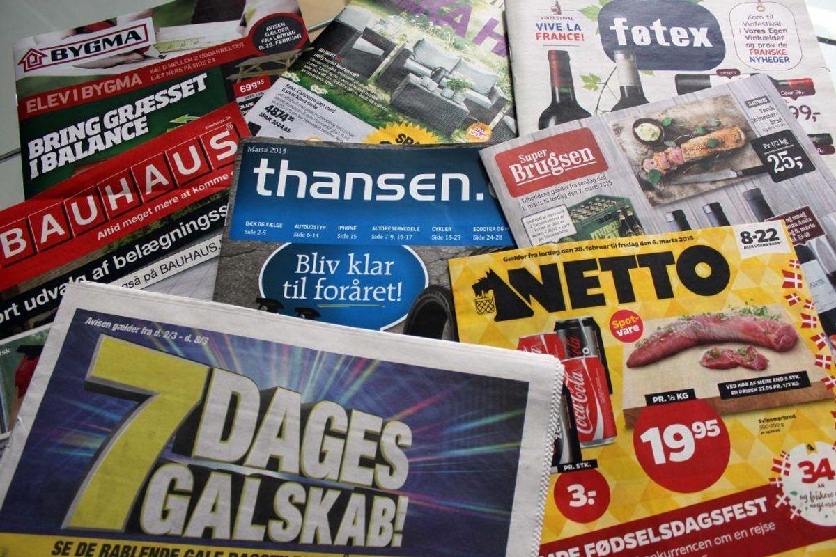 """Få et """"reklamer nej tak""""- skilt, så du mindsker spild af papir til reklamerne. Kilde: Good Housekeeping. Arkivfoto."""