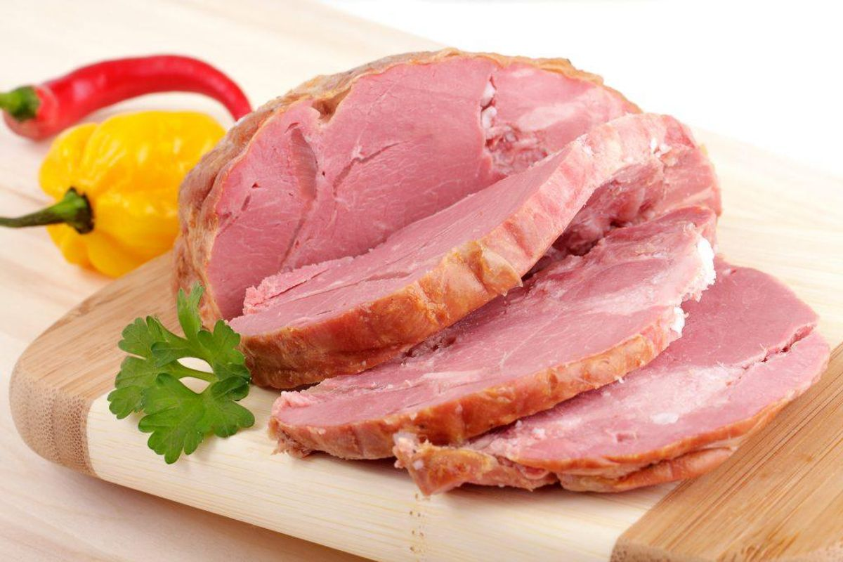 Kogt skinke: 3,6 gram.