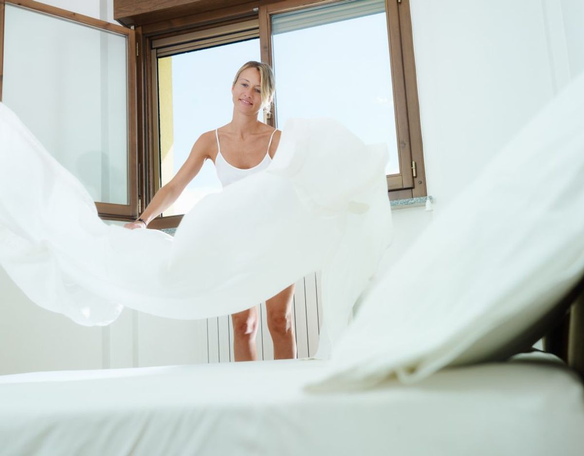 Der findes flere steder i dit soveværelse, der kan udvikle sig til regulære bakteriebomber. KLIK VIDERE OG SE, HVILKE STEDER DU SKAL VÆRE SÆRLIGT OPMÆRKSOM PÅ. Foto: Scanpix.