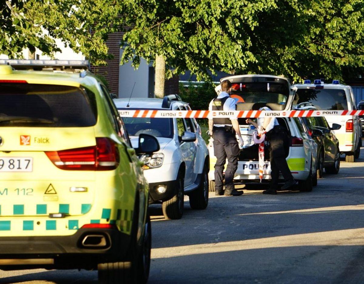 En 38-årig mand er blevet dømt for drab på sin 66-årige mor. Han dræbte hende med adskillige knivstik. Foto: presse-fotos.dk