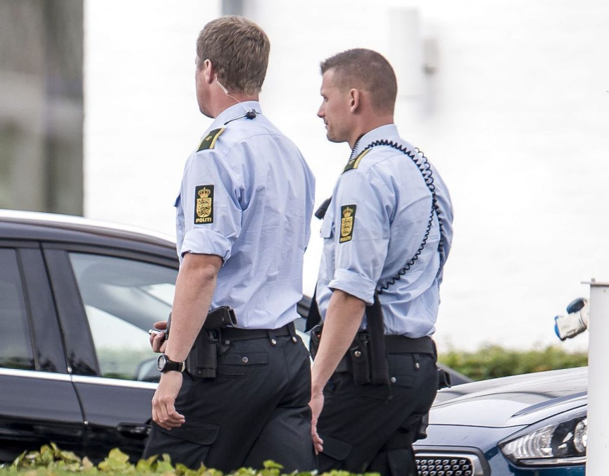 Politiet må skyde, hvis det sikrer pågribelsen af personer, der har eller mistænkes for at have påbegyndt eller gennemført et farligt angreb på en person. Kilde: Retsinformation Foto: Mads Claus Rasmussen/Ritzau Scanpix