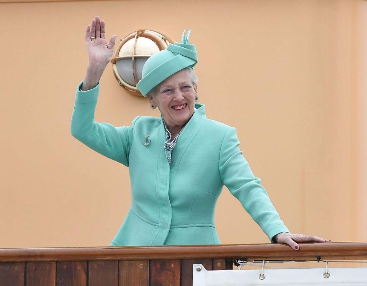 Dronningen kan vinke farvel til Kongeskibet Dannebrog, der nu lægges op. Foto: Scanpix