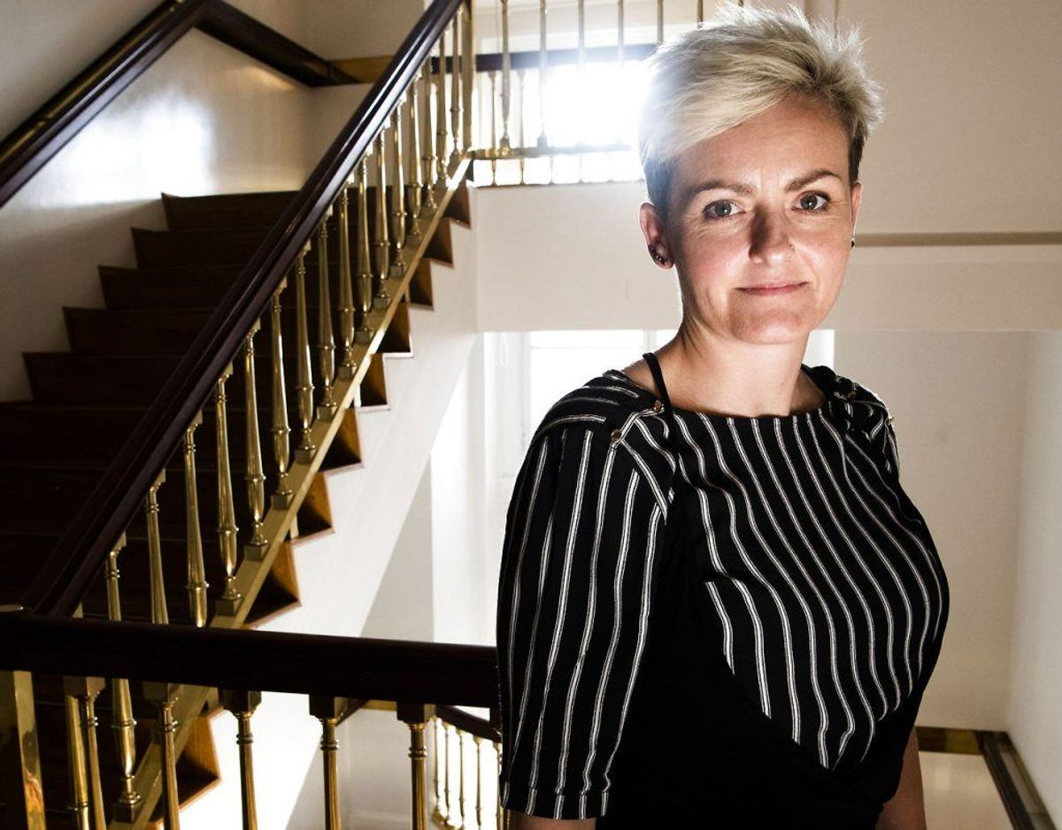 Pernille Rosenkrantz-Theil er Børne- og undervisningsminister. Foto: Scanpix
