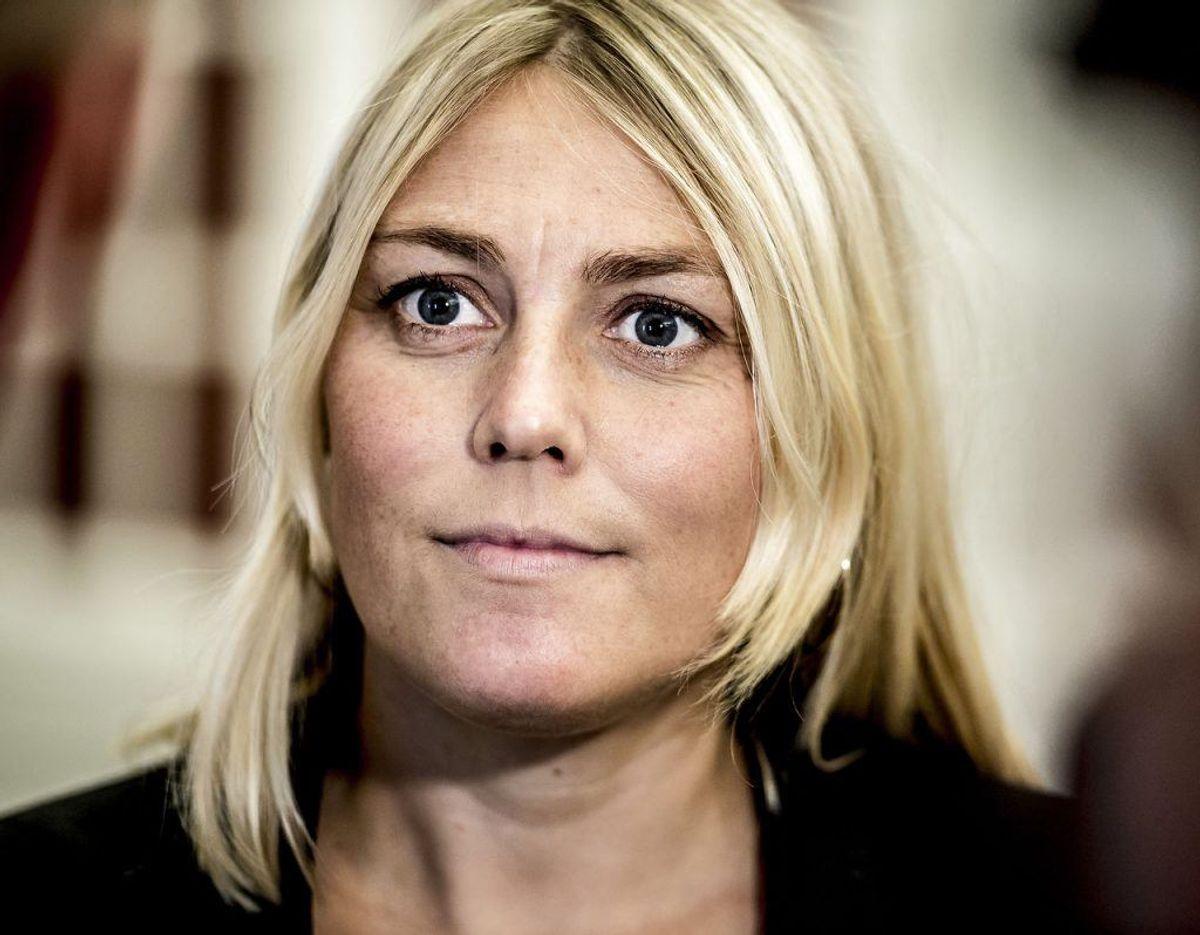 Trine Bramsen er Forsvarsminister. Foto: Scanpix