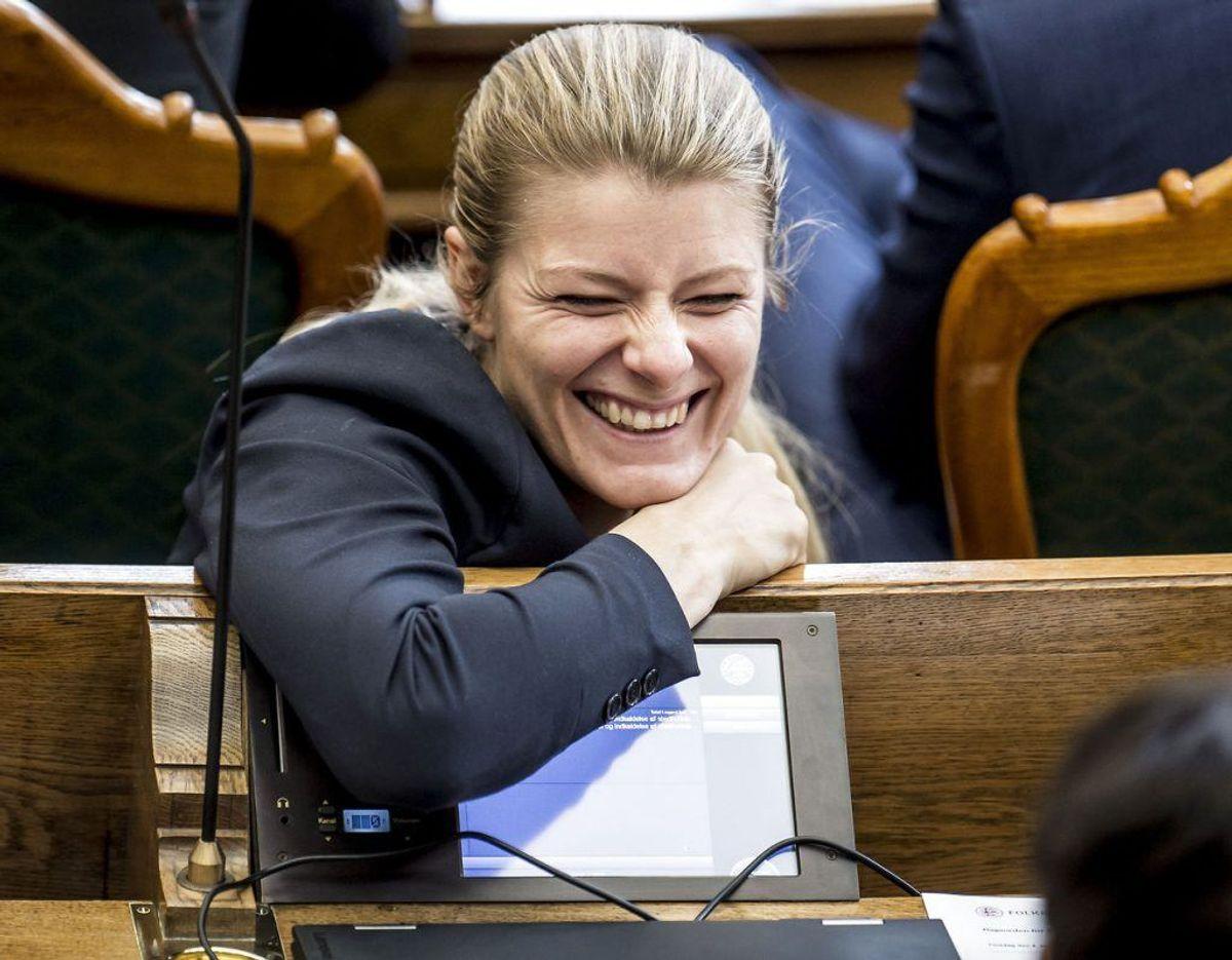 Ane Halsboe-Jørgensen er Uddannelses- og forskningsminister. Foto: Scanpix