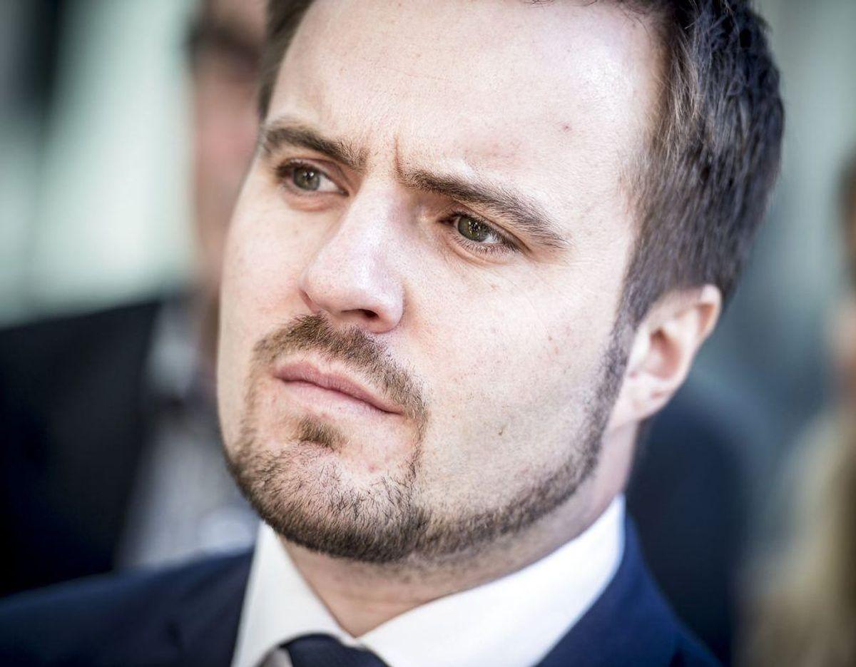 Simon Kollerup er Erhvervsminister. Foto: Scanpix