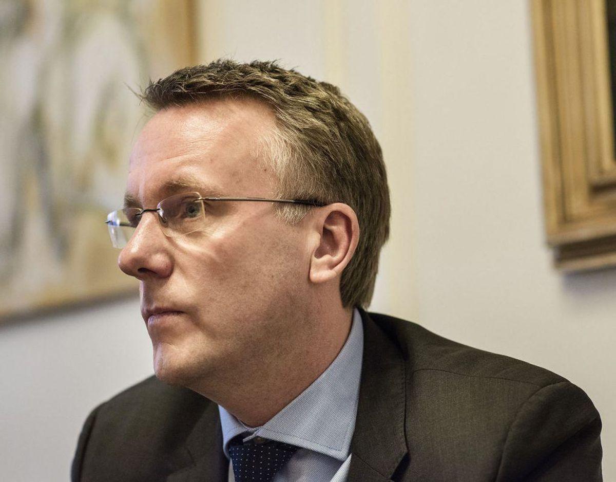 Morten Bødskov er Skatteminister. Foto: Scanpix.