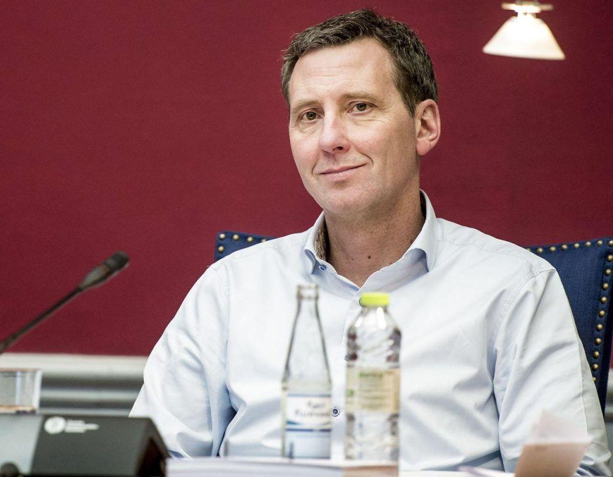 Nick Hækkerup er Justitsminister. Foto: Scanpix.