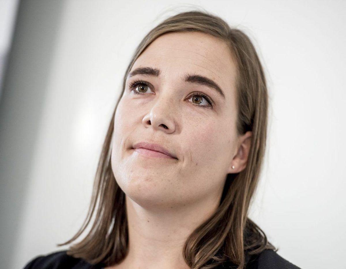 Astrid Krag er Social- og Indenrigsminister. Foto: Scanpix.