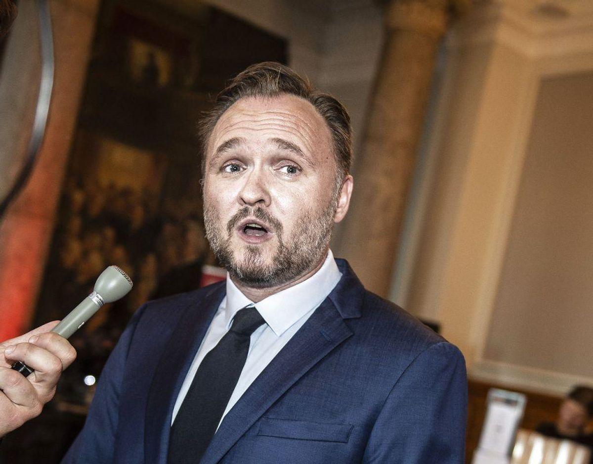 Dan Jørgensen er Klima- Energi- og Forsyningsminister. Foto: Scanpix.