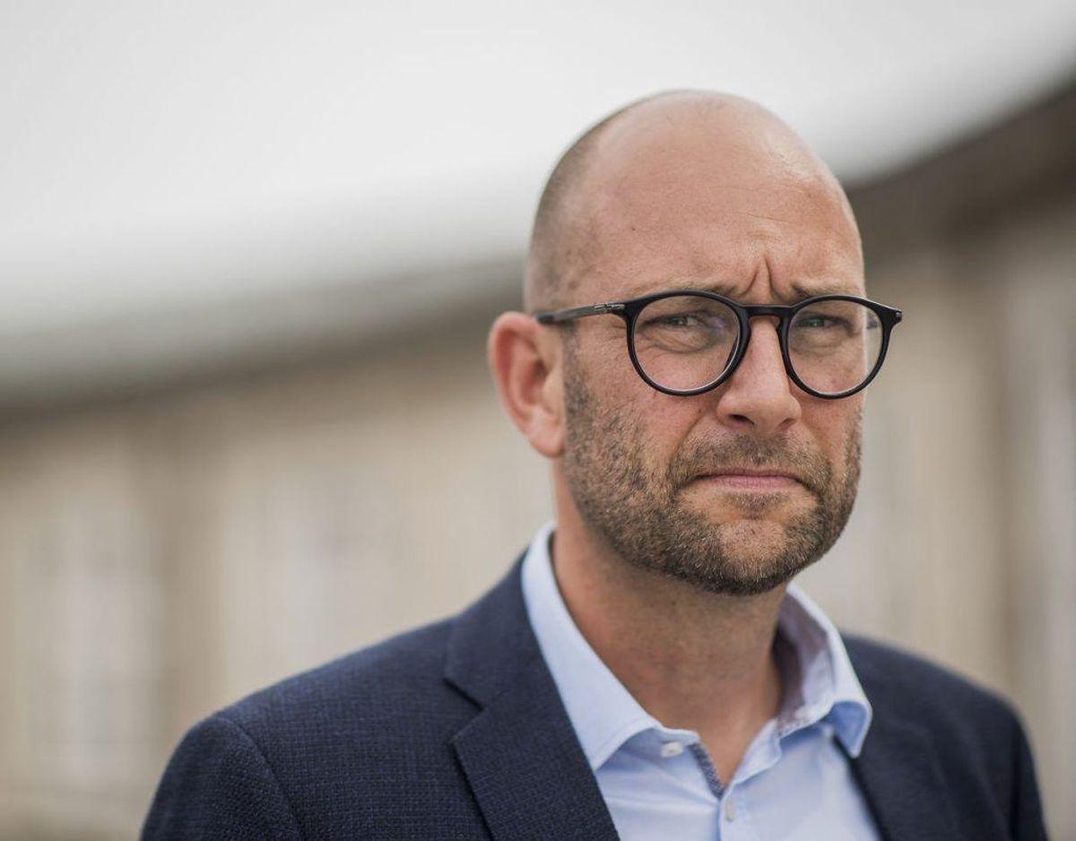 Rasmus Prehn er Minister for udviklingssamarbejde. Foto: Søren Bidstrup/Ritzau Scanpix